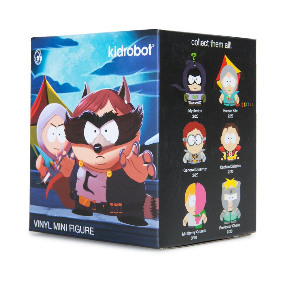 "South Park The Fractured But Whole 3"" Blind Box Mini Series - Kidrobot - 8"