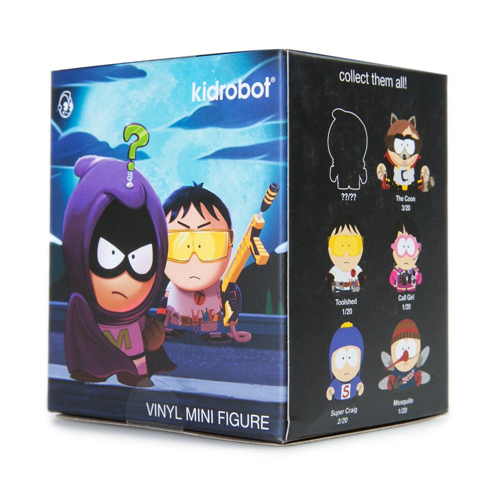 "South Park The Fractured But Whole 3"" Blind Box Mini Series - Kidrobot - 9"
