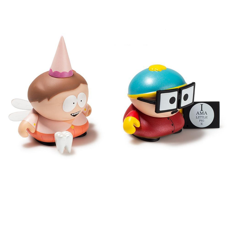Vinyl - South Park Tooth Fairy And Piggy Cartman Mini Figure 2-Pack