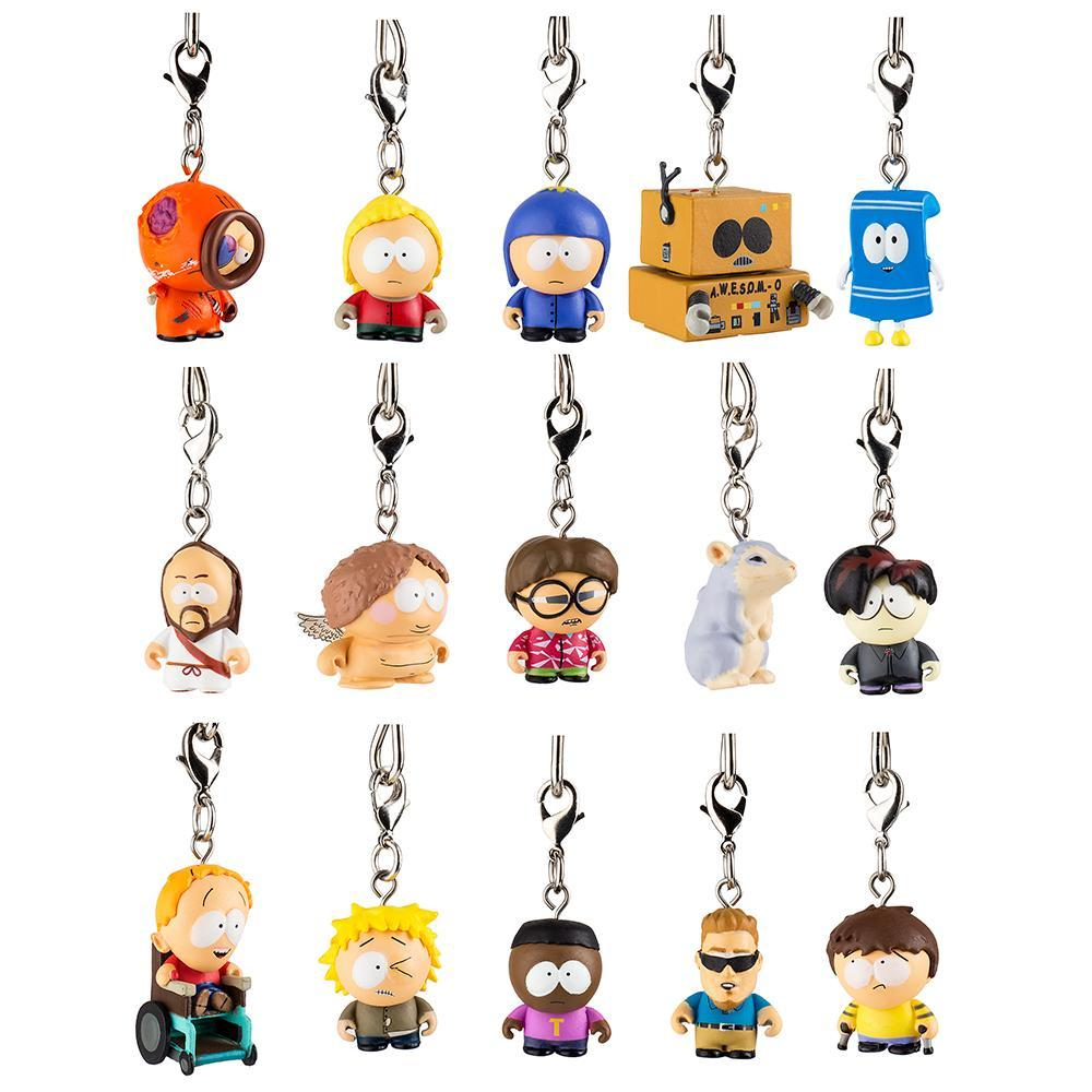 South Park Zipper Pull Keychain Series 2 by Kidrobot Awesome-O
