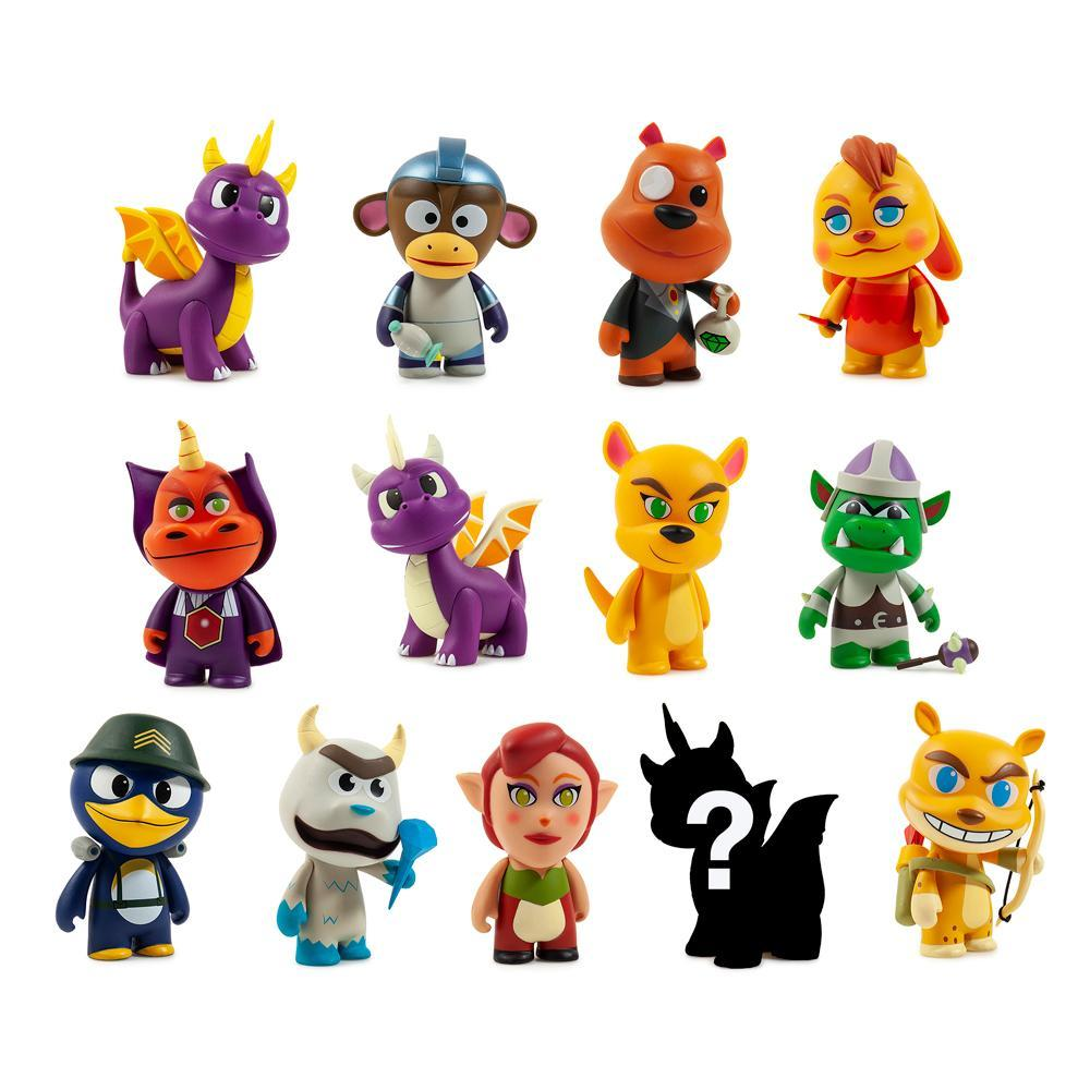 Vinyl - Spyro The Dragon Mini Figure Series By Kidrobot