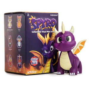 Spyro the Dragon Mini Figure Series by Kidrobot - Kidrobot - Designer Art Toys