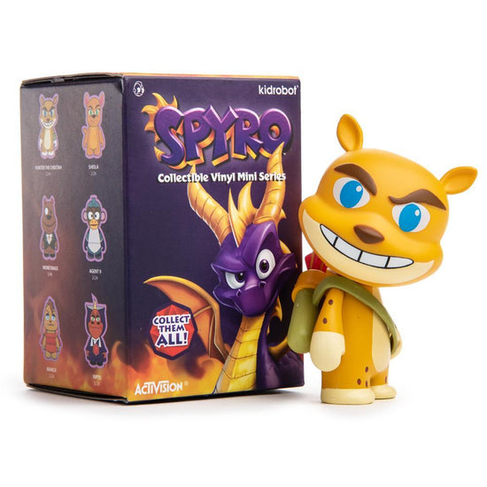 Spyro The Dragon Vinyl Figure Series By Kidrobot Kidrobot