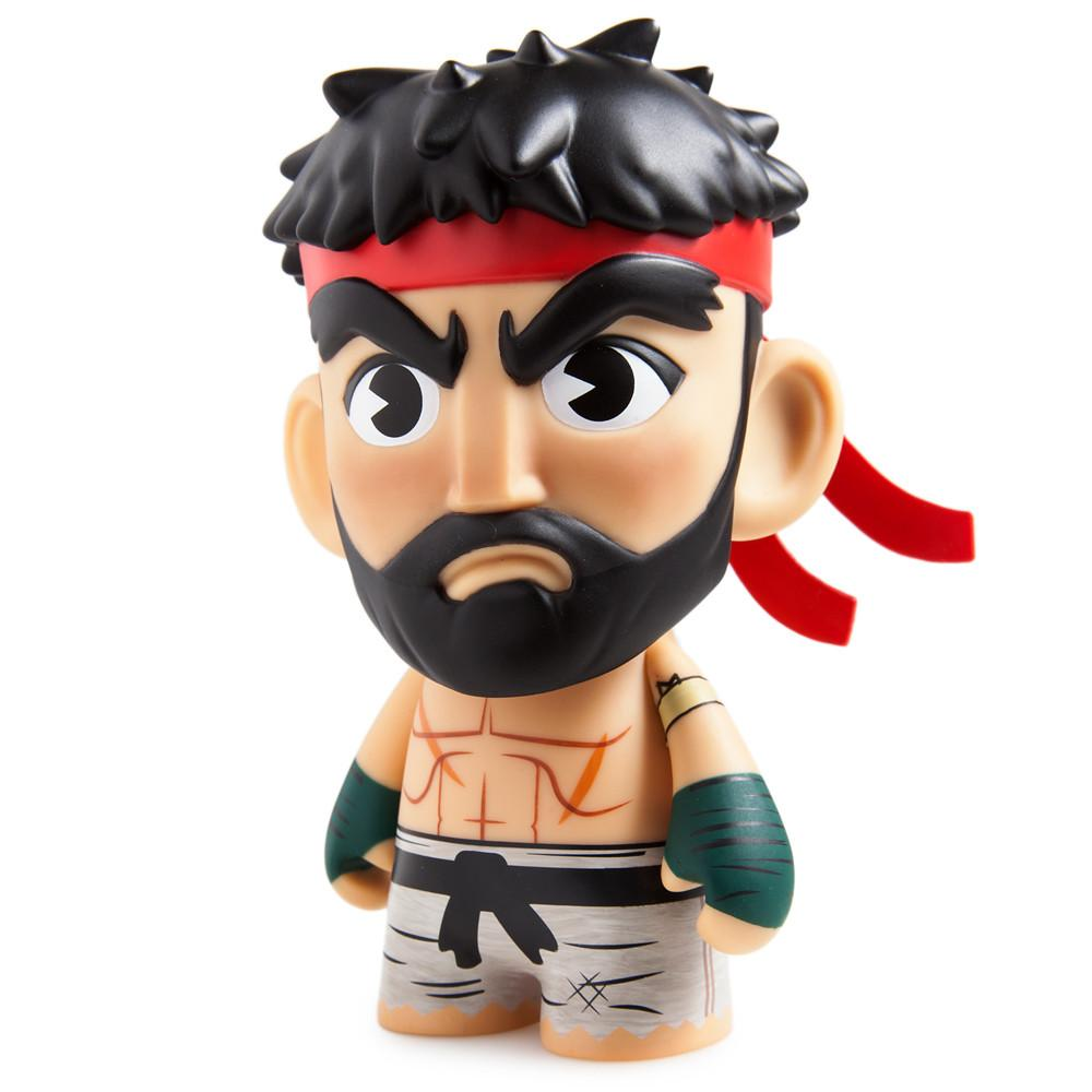 Street Fighter V Hot Ryu Medium Figure - Kidrobot - 1