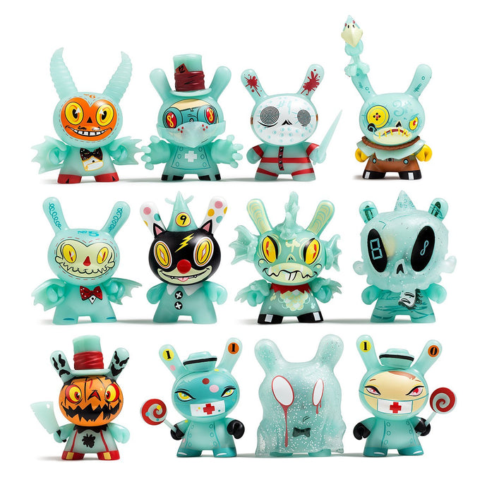 """The 13"" Glow-in-the-Dark Dunny Series by Brandt Peters x Kidrobot - Kidrobot - Designer Art Toys"