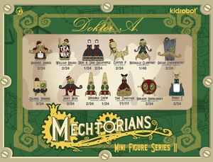 The Mechtorians Mini Art Figure Series by Doktor A - Kidrobot - Designer Art Toys