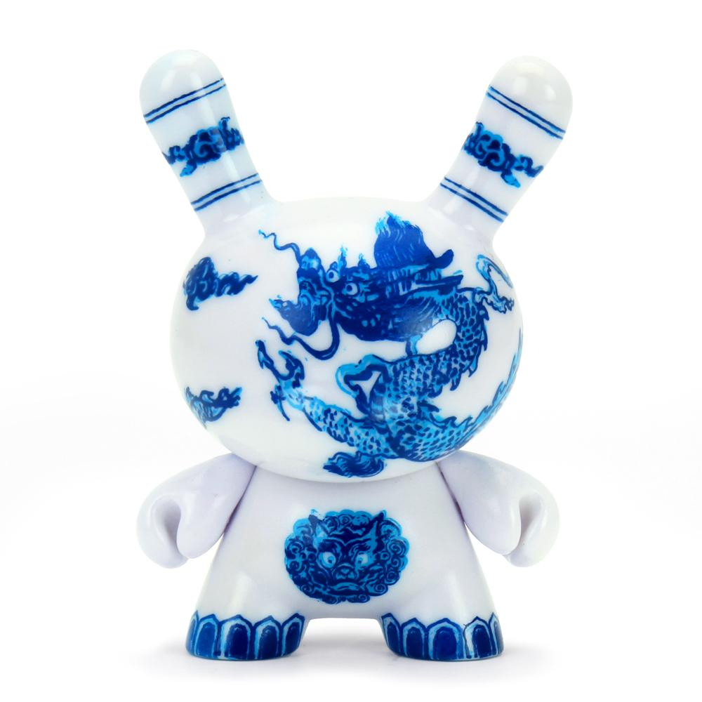 The Met 3-Inch Showpiece Dunny - Chinese Dragon Panel (PRE-ORDER) - Kidrobot - Designer Art Toys