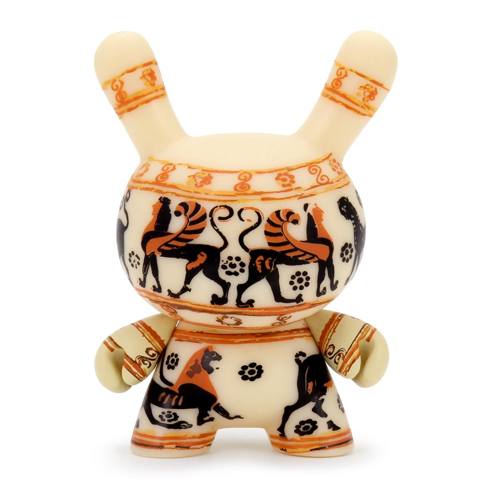 The Met 3-Inch Showpiece Dunny - Greek Cosmetic Vase - Kidrobot - Designer Art Toys