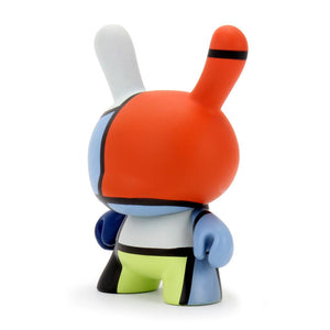 The Met 3-Inch Showpiece Dunny - Mondrian Composition (PRE-ORDER) - Kidrobot - Designer Art Toys