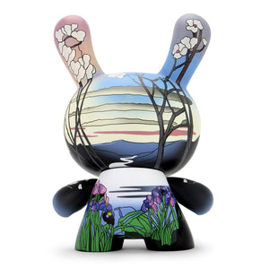 The Met 8-Inch Masterpiece Dunny - Louis C. Tiffany Magnolias and Irises - Kidrobot - Designer Art Toys