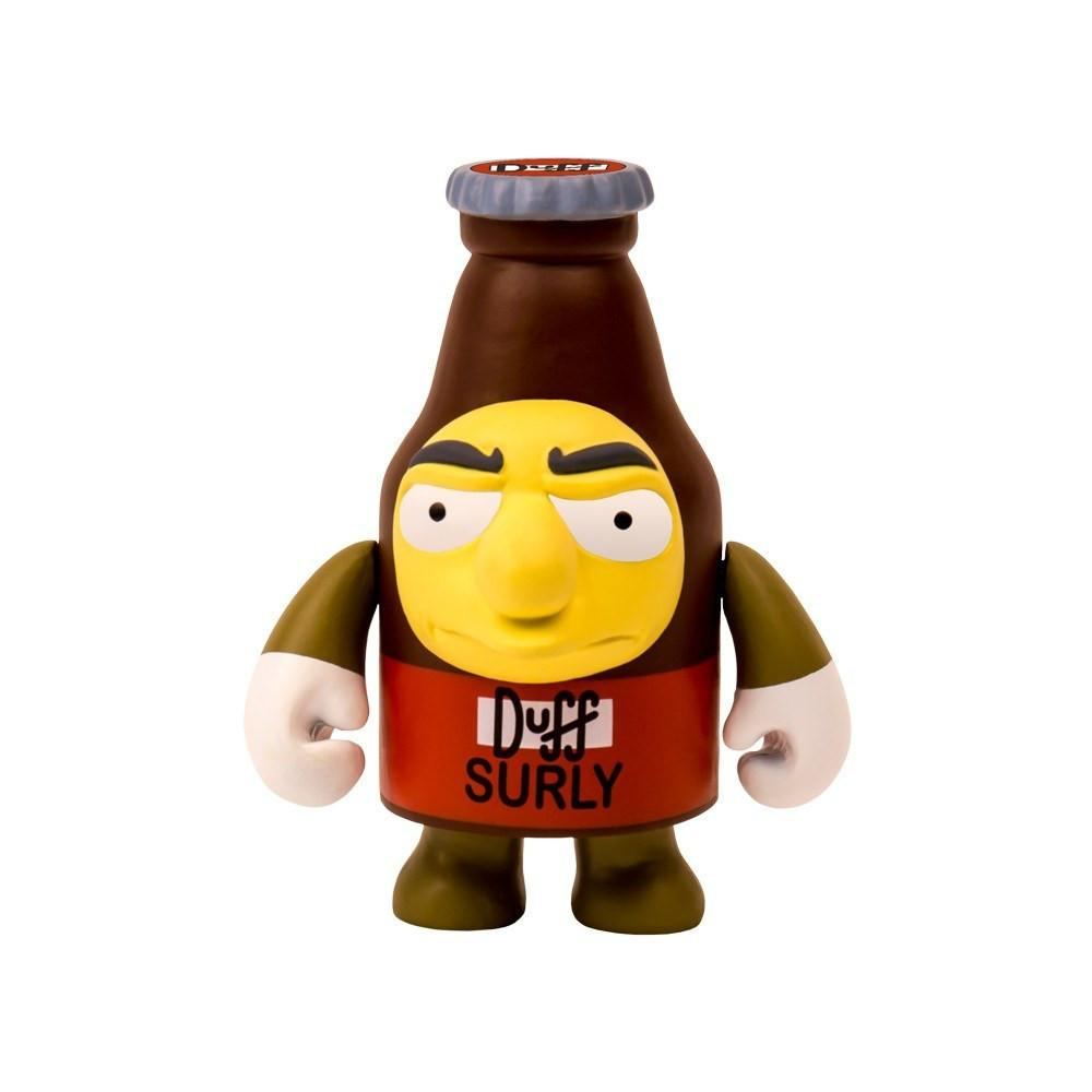 "The Simpsons Surly Duff Beer 3"" Vinyl Figure by Kidrobot - Kidrobot - Designer Art Toys"