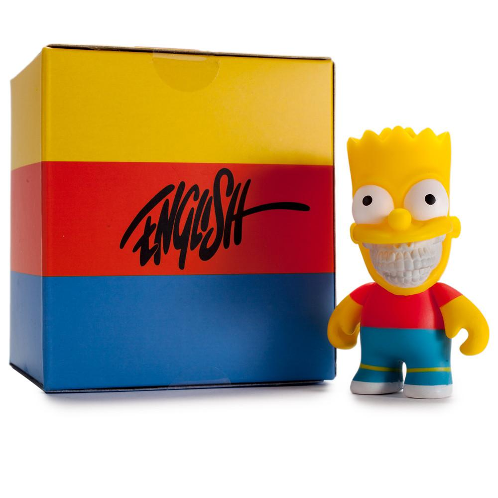 "The Simpsons Bart Grin 3"" Figure by Ron English - Kidrobot"