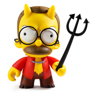 Vinyl - The Simpsons Devil Flanders Art Figure