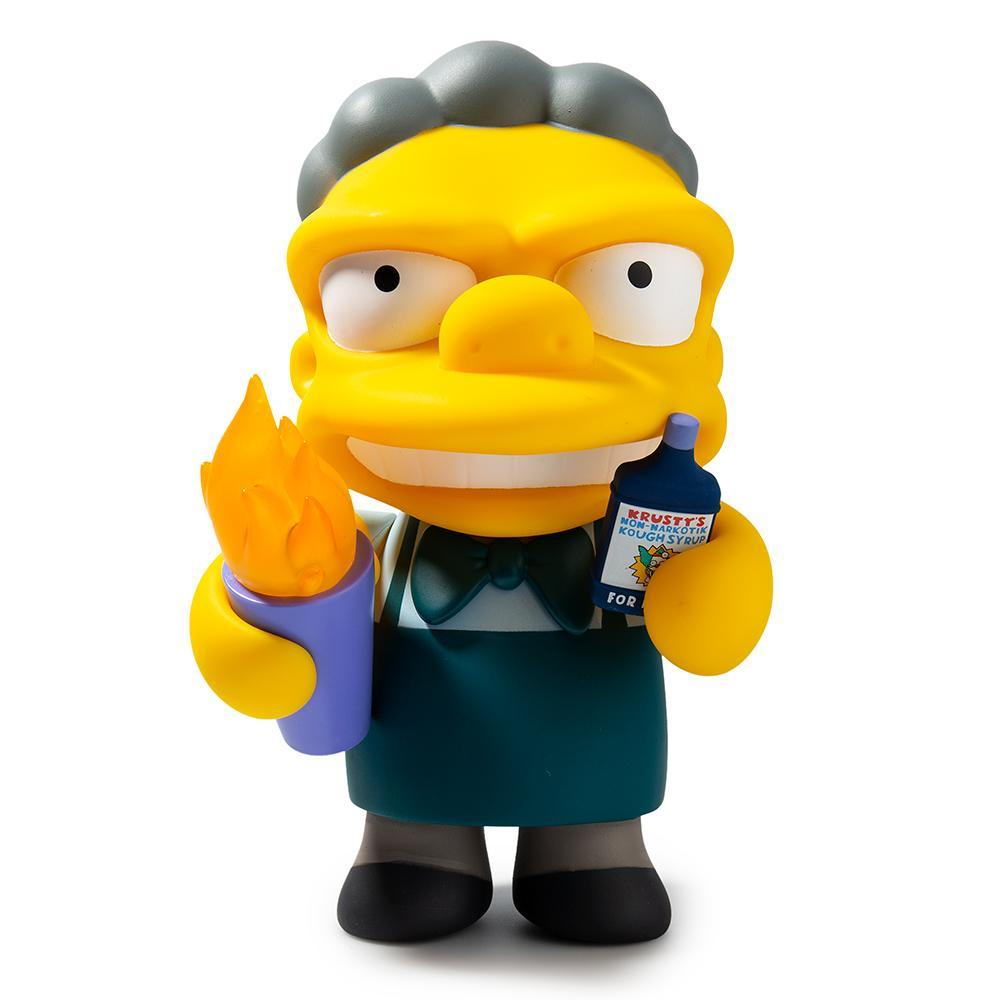 The Simpsons Flaming Moe's Moe Art Figure by Kidrobot - Kidrobot - Designer Art Toys