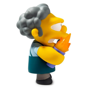 Vinyl - The Simpsons Flaming Moe's Moe Art Figure By Kidrobot