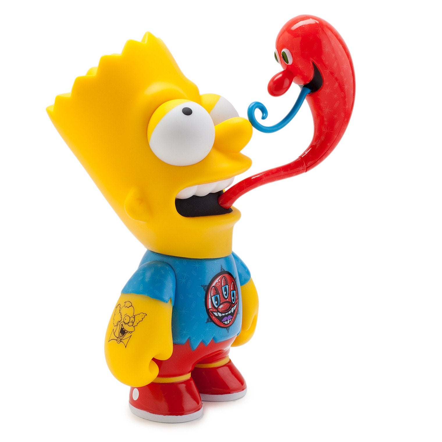 "The Simpsons Kenny Scharf Bart 6"" Medium Figure - Kidrobot - Designer Art Toys"