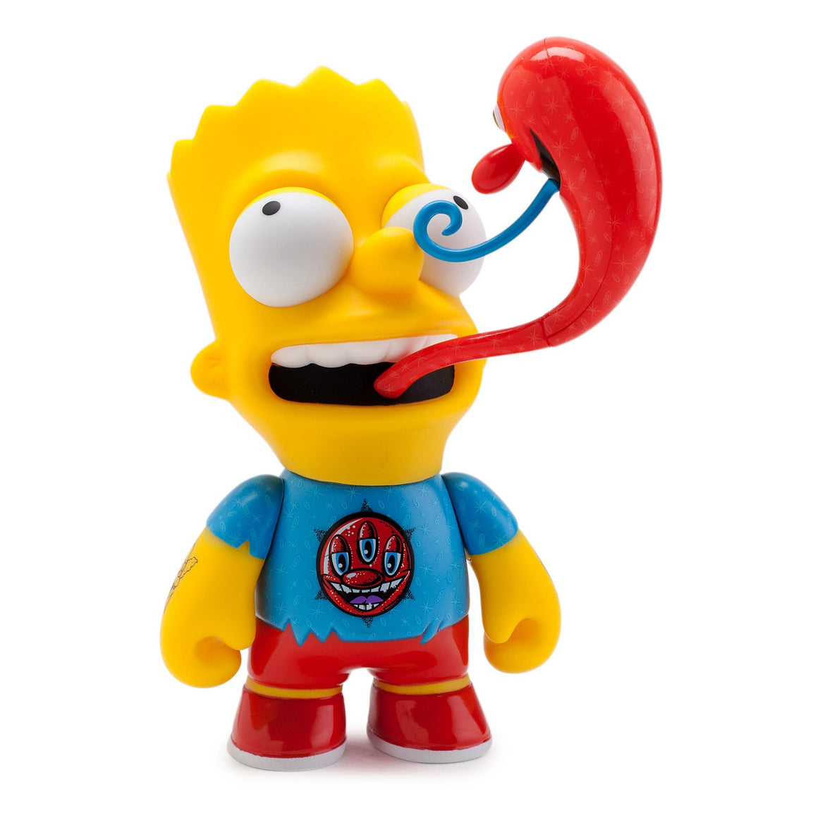 "The Simpsons Kenny Scharf Bart 6"" Medium Figure - Kidrobot"