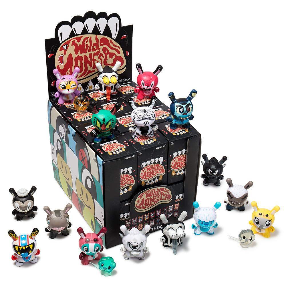 The Wild Ones Blind Box Dunny Mini Art Figure Series - Kidrobot
