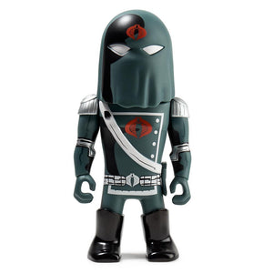Vinyl - Transformers Vs G.I. Joe Black Cobra Commander Art Figure