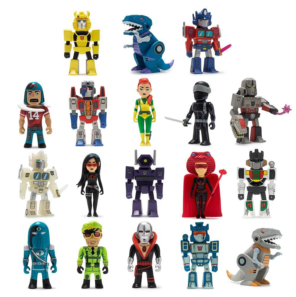 Vinyl - Transformers Vs. G.I. Joe Mini Figure Series