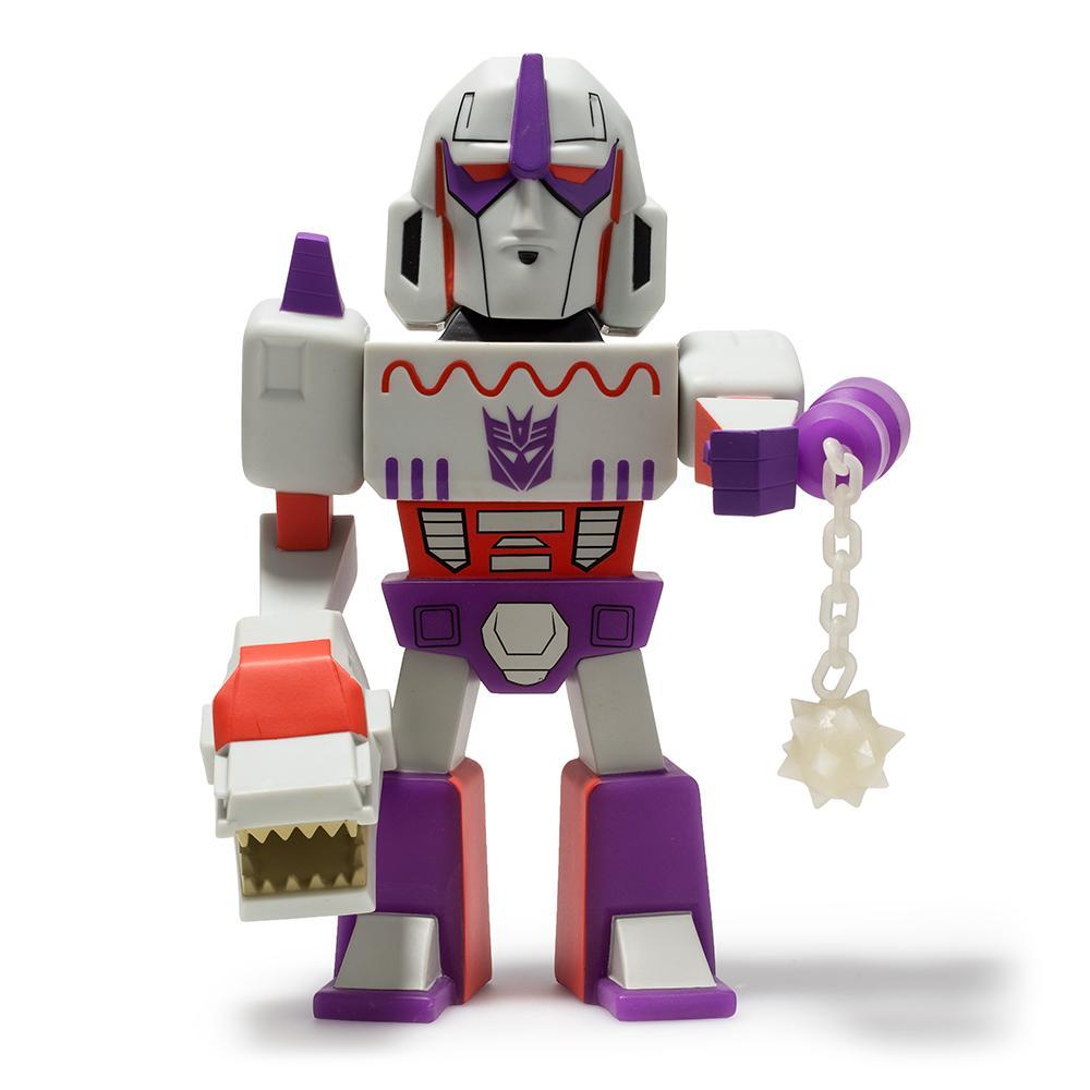 Vinyl - Transformers Vs GI Joe Megatron Purple Art Figure