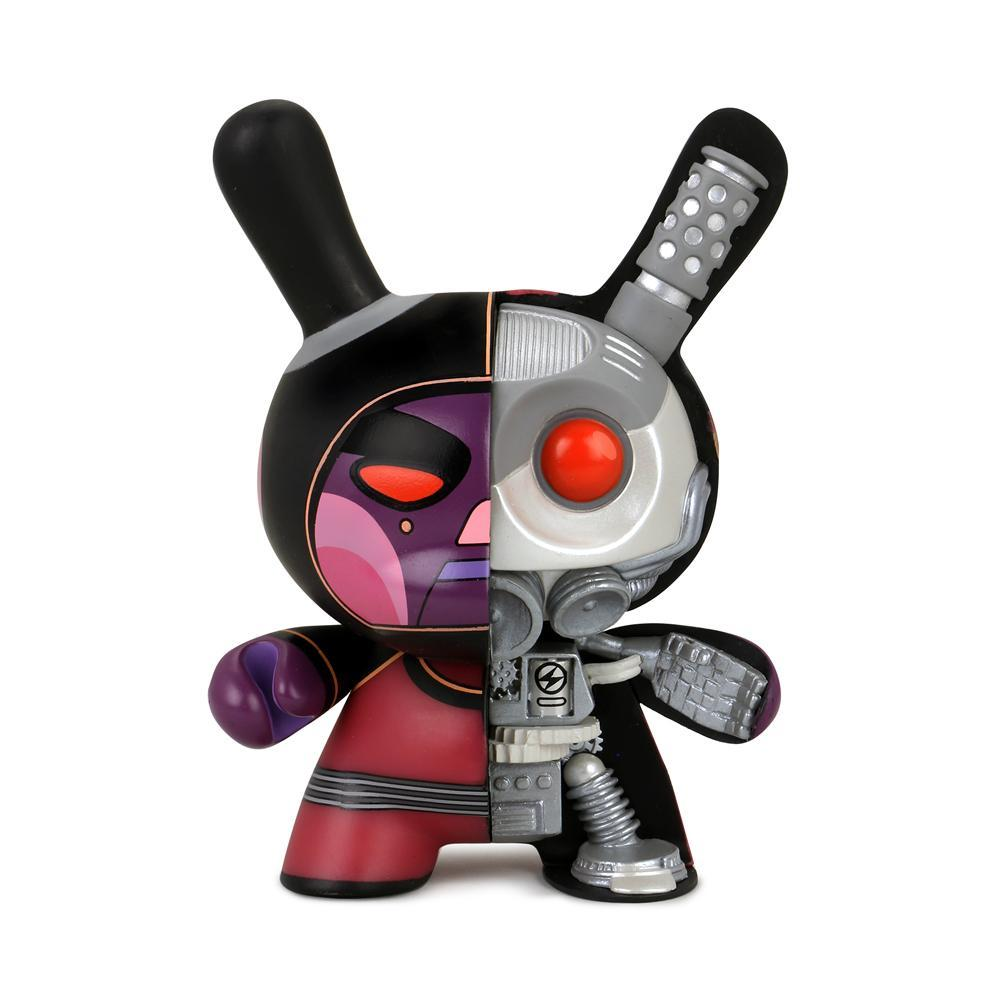 "VOID 5"" Mecha Half-Ray Android Dunny by Dirty Robot – Destroy Edition - Kidrobot - Designer Art Toys"