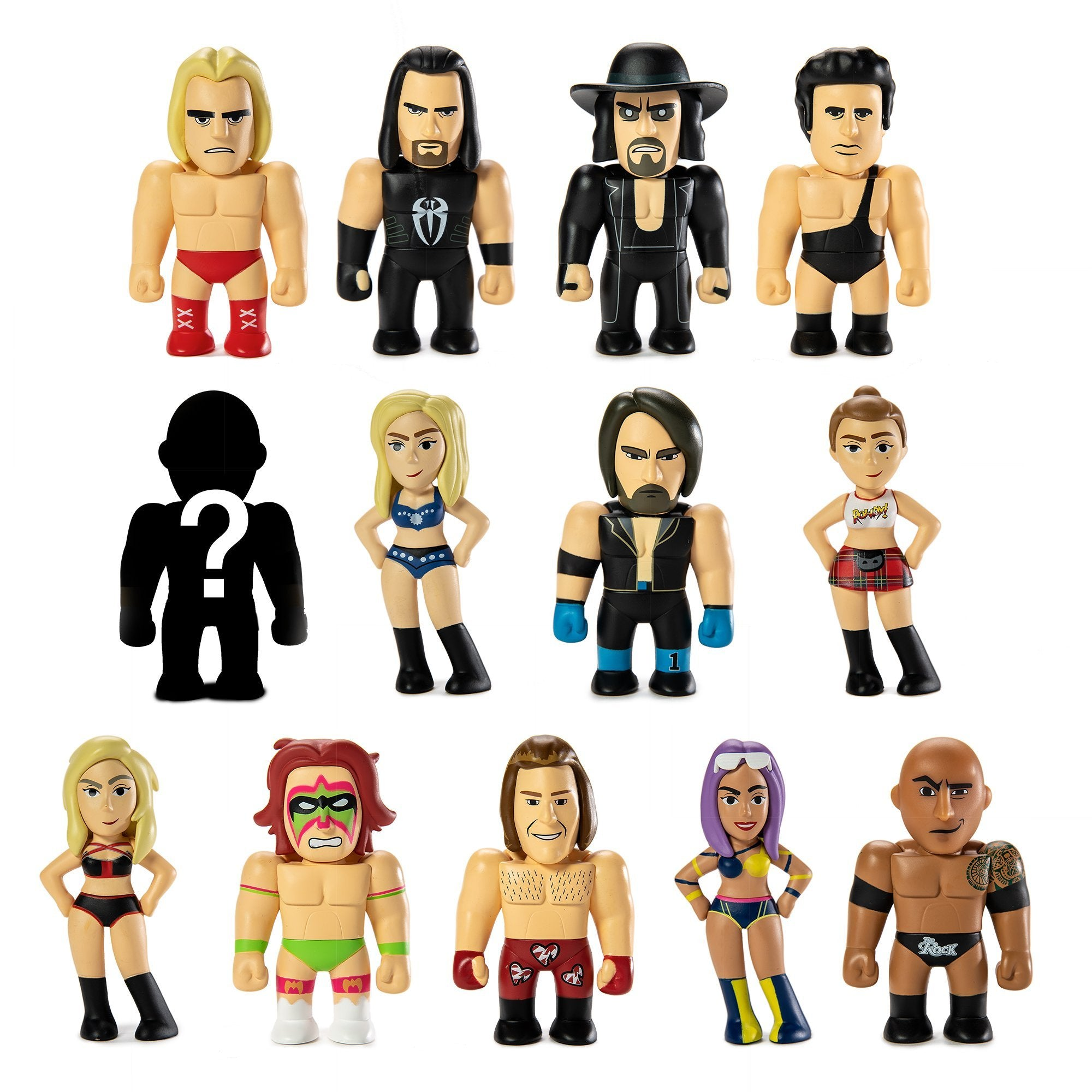 Wwe Collectible Vinyl Mini Figure Series By Kidrobot Kidrobot