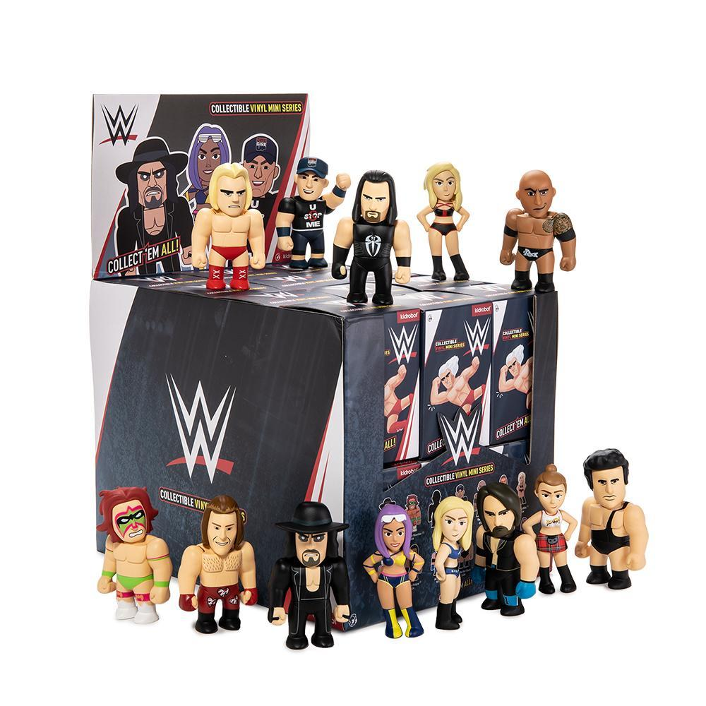 Vinyl - WWE Collectible Vinyl Mini Figure Series By Kidrobot
