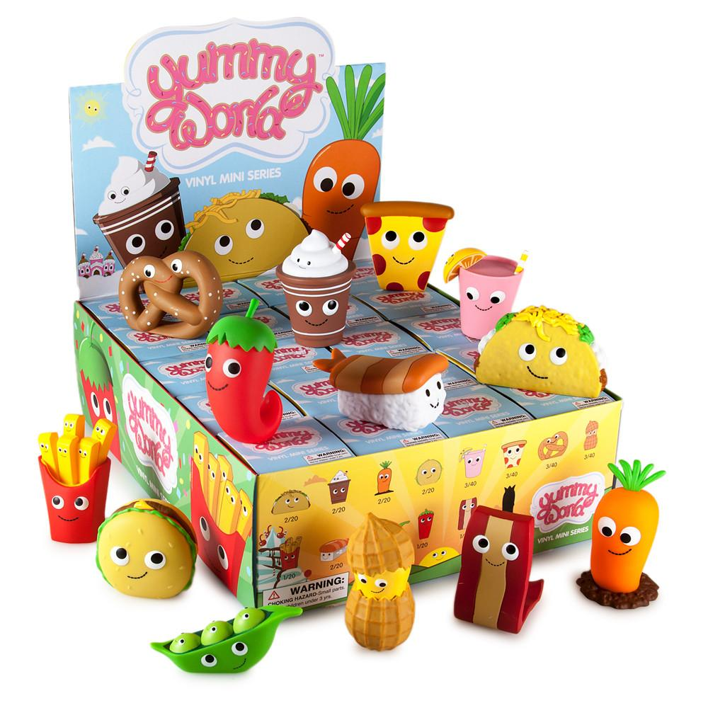 Yummy World Blind Box Vinyl Mini Series - Kidrobot - Designer Art Toys