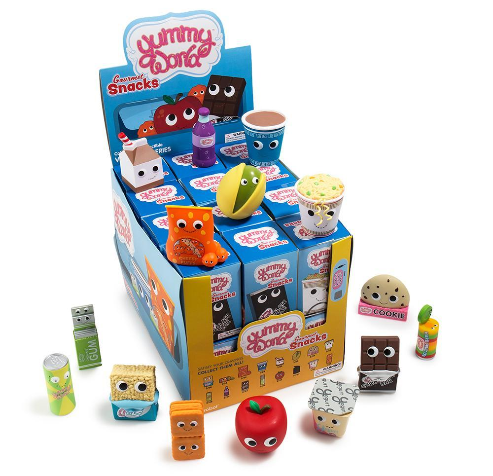 Yummy World Gourmet Snacks Blind Box Vinyl Mini Series - Kidrobot