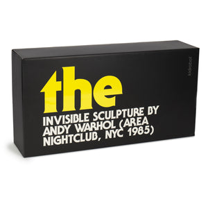 Andy Warhol The Invisible Sculpture - Kidrobot - Designer Art Toys