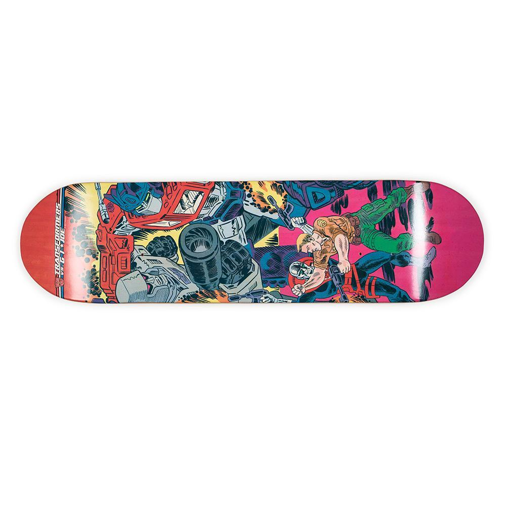 Transformers vs G.I. Joe Limited Edition Skateboard Deck - Kidrobot - Designer Art Toys