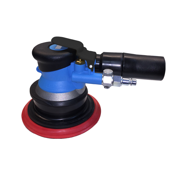 "Action Air Sander, 6""Dia. 5mm Orbit - 84-6001"
