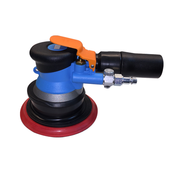 "Dual Action Air Sander, 6""Dia. 7mm Orbit - 84-6013"