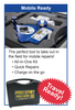 Glass Repair / Windshield Chip Repair Kit - Mobile Friendly