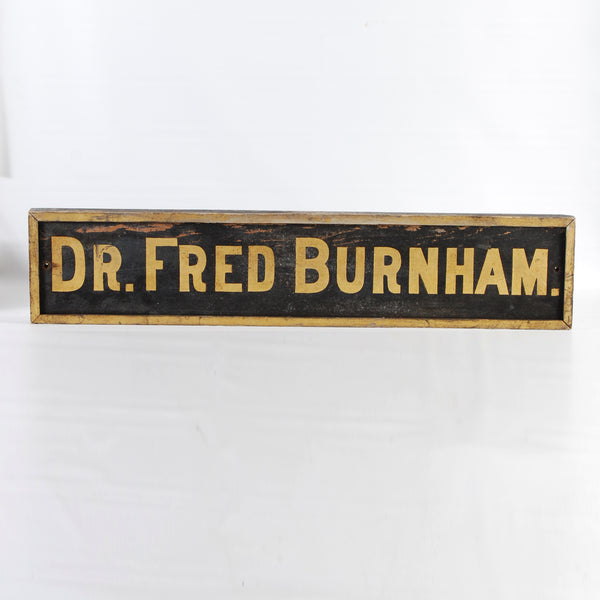 Doctor Burnham Sign