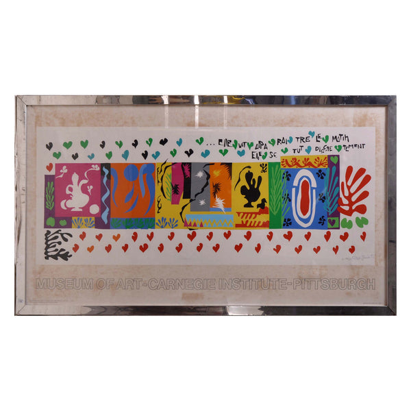 Large Pace Matisse Poster