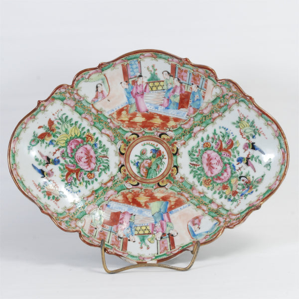 Rose Medallion Dish