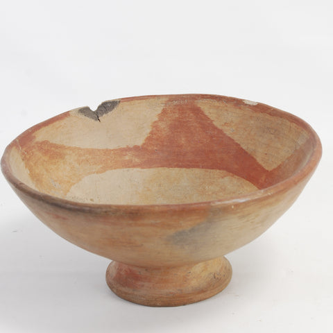 Native American Footed Bowl