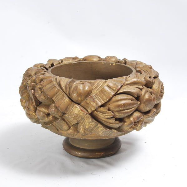 Carved Compote