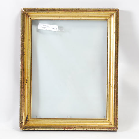 Small Lemon Gold Frame