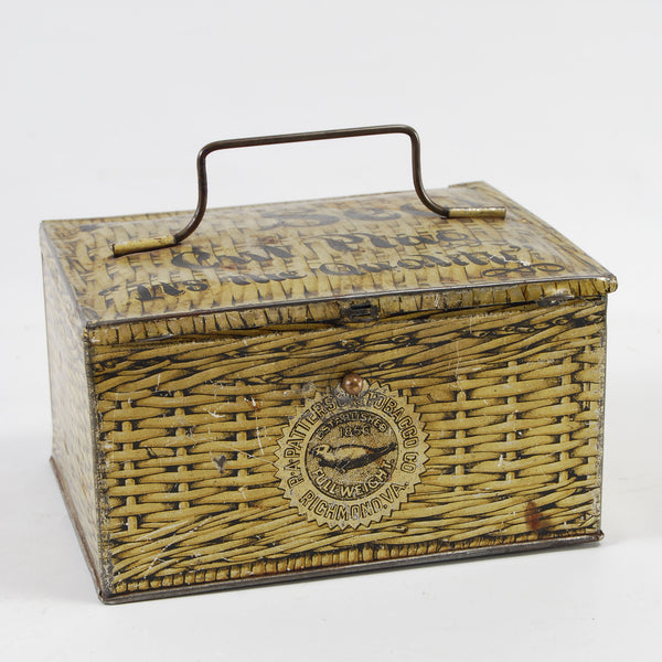 Tobacco Lunchbox Tin