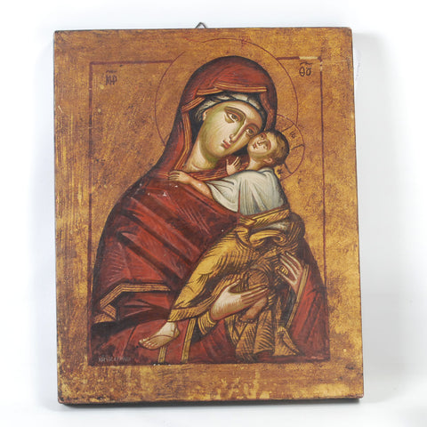 Virgin & Child Icon