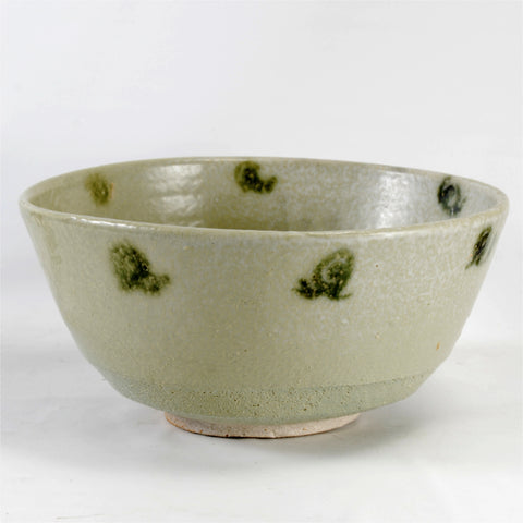 Studio Pottery Fruit Bowl Green
