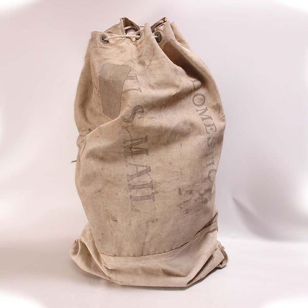 Antique Vintage U S Mail Bag Seaver Amp Mclellan Antiques