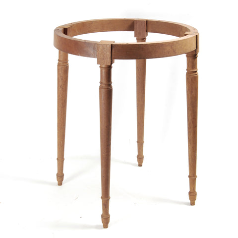 Round Side Table Base Sheraton