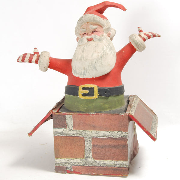 Rubber Chimney Santa