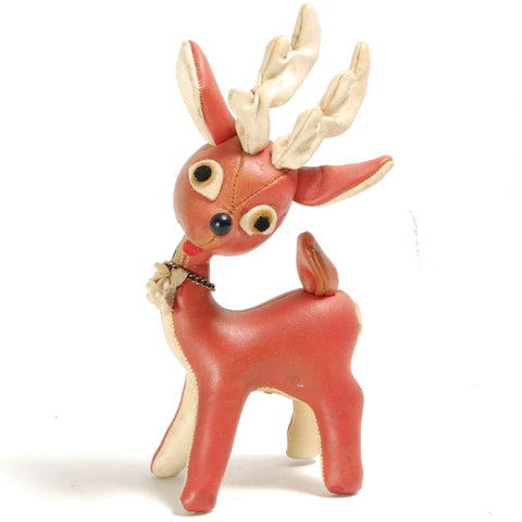 Leather Reindeer Toy