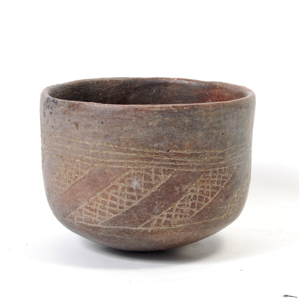 Incised Pre-Columbian Bowl