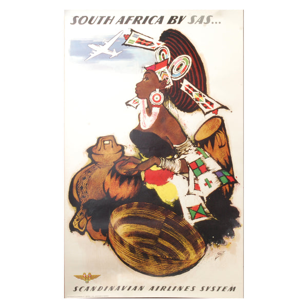 SAS South Africa Travel Poster